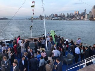 Spirit of New York Yacht Charter Party on Deck
