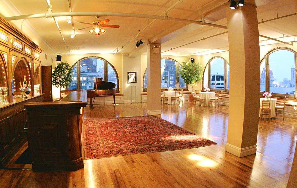 Manhattan-Penthouse-Reception-Room
