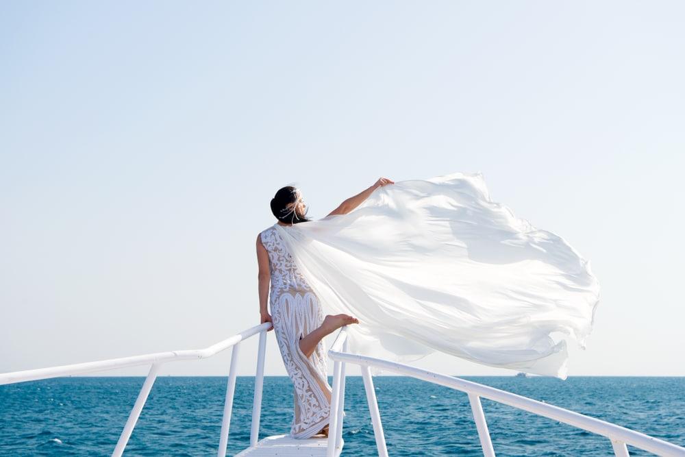 boat wedding dresses new york boat charters
