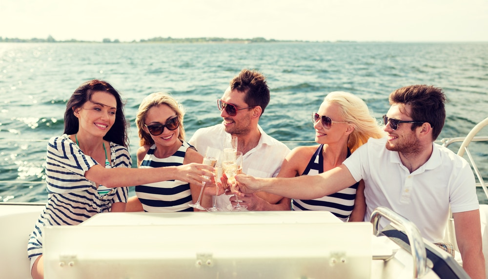 private yacht charter rental - wedding event planning nyc